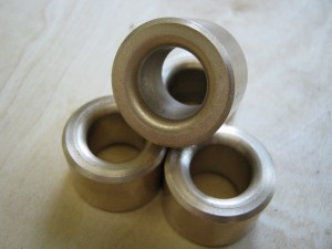 Our latest Oilite(TM) bushing fits Chevy's replacing Powerglides Suggested retail US$9.90, Auto Gear Direct US$8.42